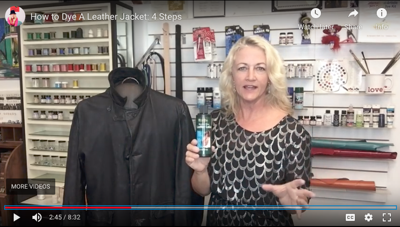 How to Dye A Leather Jacket: 4 Steps
