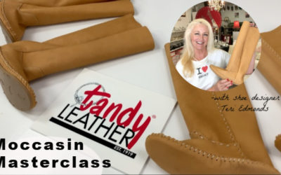 DIY Boot Tutorial:  Tandy® Moccasin Masterclass
